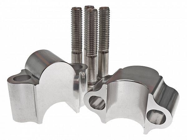 25mm raiser-kit til styr, ø22mm - Jax Metal