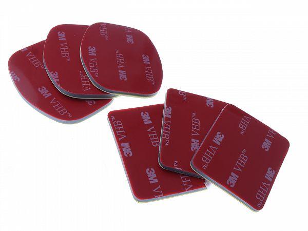 3M pads til GoPro base, 6 stk