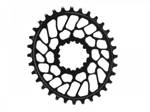 Absoluteblack Direct Mount 10/11/12-Speed Oval Klinge, 34T