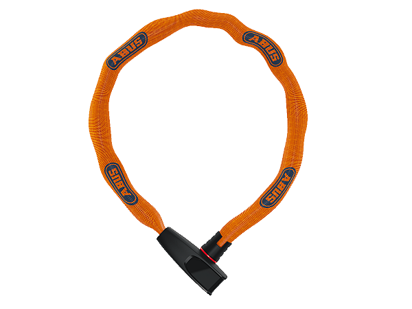 Abus 6806 Catena Chain Lock, Neon Orange