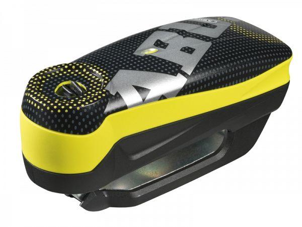 Abus 7000 Detecto RS1 Elektronisk Alarmlås, pixel yellow