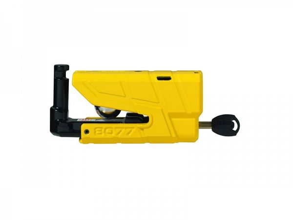 Abus 8077 Detecto Disc brake lock m. Alarm, yellow