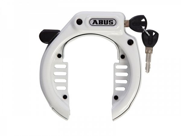Abus Ringlås 485 Amparo LH m/slidser, hvid