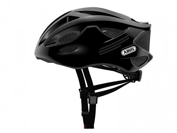 Abus S-Cension Cykelhjelm, Shiny Black