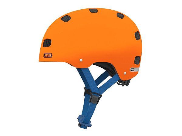 Abus Scraper Kid 2.0 Cykelhjelm, Signal Orange (48-55 cm)