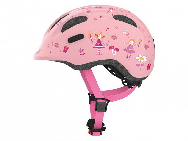 Abus Smiley 2.0 Cykelhjelm Rose Princess
