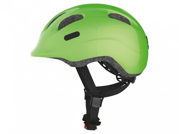 Abus Smiley 2.0 Cykelhjelm, Sparkling Green