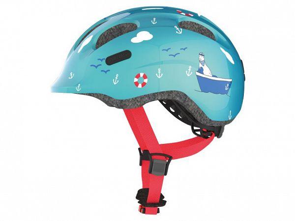 Abus Smiley 2.0 Cykelhjelm Turquoise Sailor