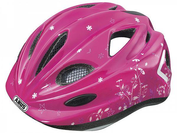 Abus Super Chilly Børne Cykelhjelm, Garden Pink