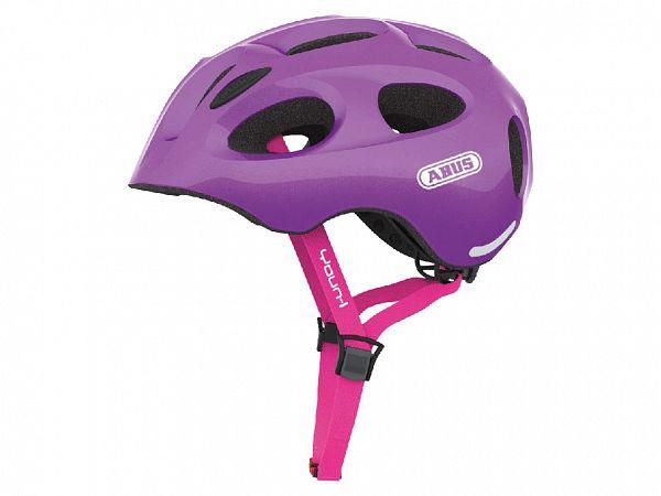 Abus Youn-I Cykelhjelm Sparkling Purple