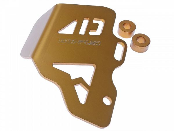 Accessories - Brake Master Cover, Rear - Gold - Doppler