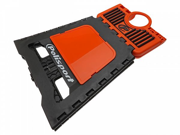 Accessories - Polisport foldable pit stand, orange