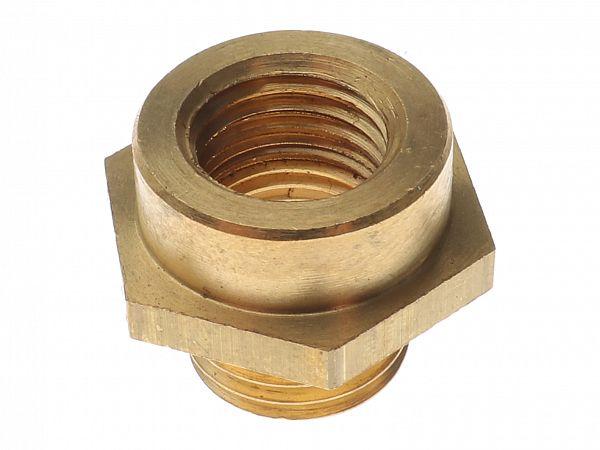 Adapter til temperaturføler, Euro4 - M12x1,5mm -> M14x1,5mm - Doppler