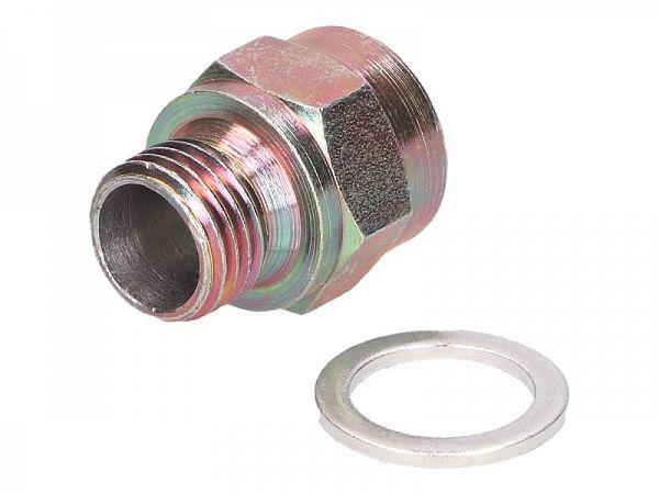 Adapter til temperaturføler, Euro4 - M14x1,5mm -> M12x1,5mm - 101_Octane