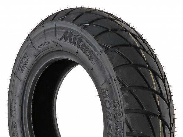 All-season tires - Mitas MC20 M + S - 120 / 90-10