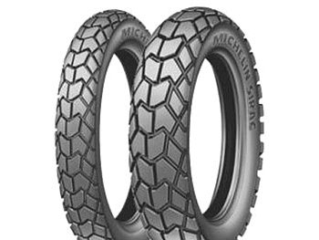 "All-year tires - Michelin Sirac 18/21 "", 110 / 80-18"