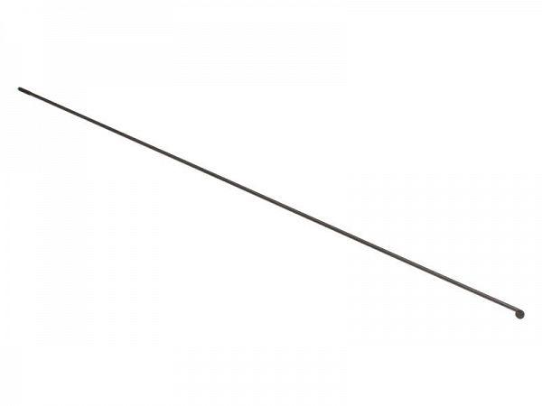 Alpina sorte rustfrie Eger, 2,00mm