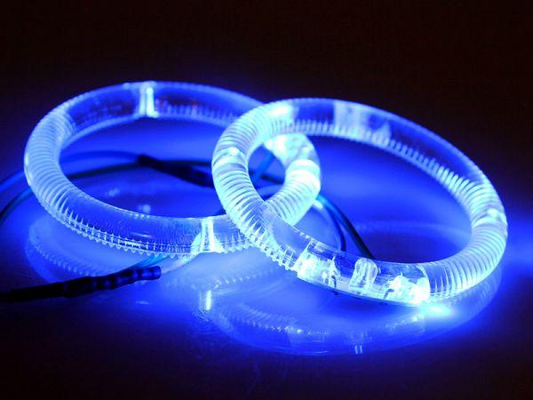 Angeleyes - blå - ø59mm