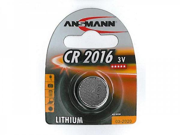 Ansmann Element CR2016 3V lithium batteri