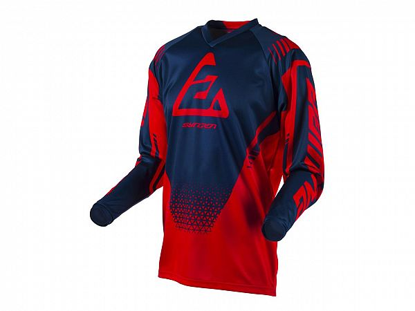 Answer Syncron Drift Jersey, Red/Midnight