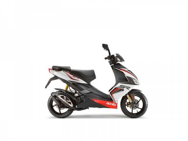 Aprilia SR50 R - hvid - 45km/t
