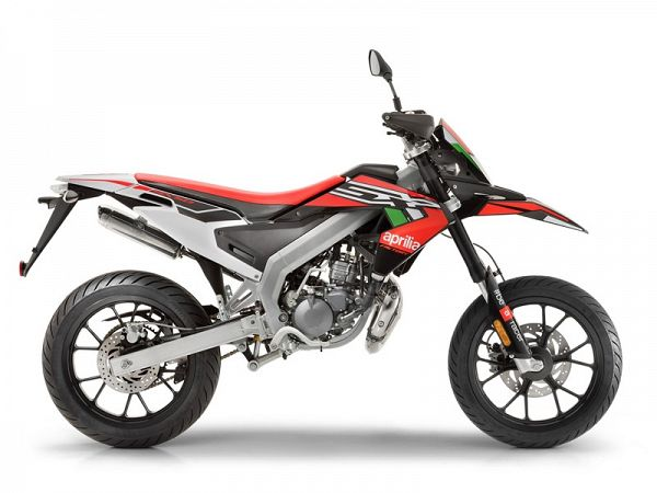 Aprilia SX50 Factory Euro4 - Red Stuntman - 30km/t