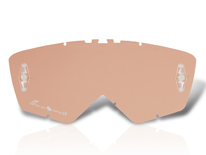 Ariete Cross Glasses, Light Coral
