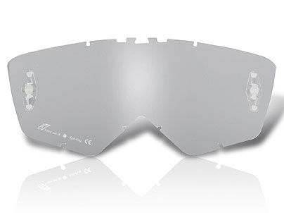 Ariete Cross Glasses, Silver Mirror