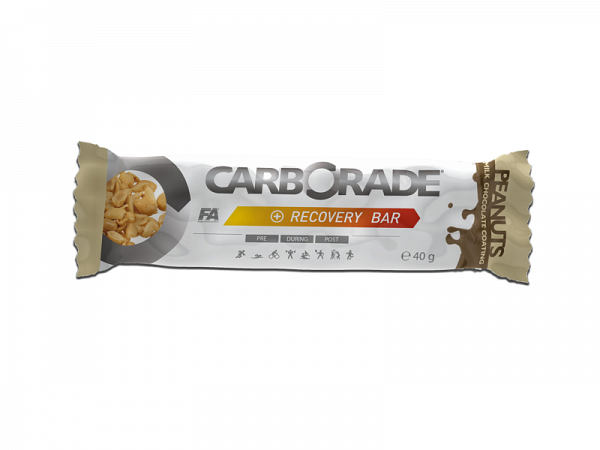 ATNU Carborade Recovery Chokolade/Peanuts Bar, 40g (Udløb: 01. juli 2018)