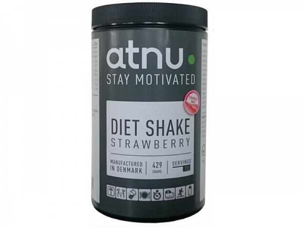 ATNU Diet Shake Jordbær, 429g