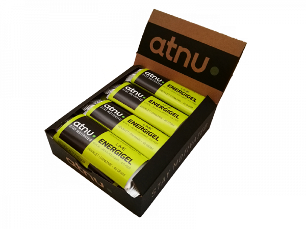 ATNU Lime/Koffein Energigel, 40g