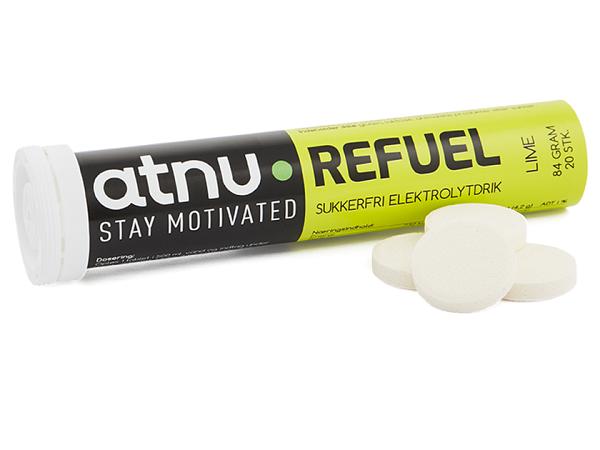 ATNU Refuel Lime Elektrolyttabs, 20stk