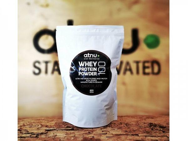 ATNU Whey 100 Protein Chocolade, 800g