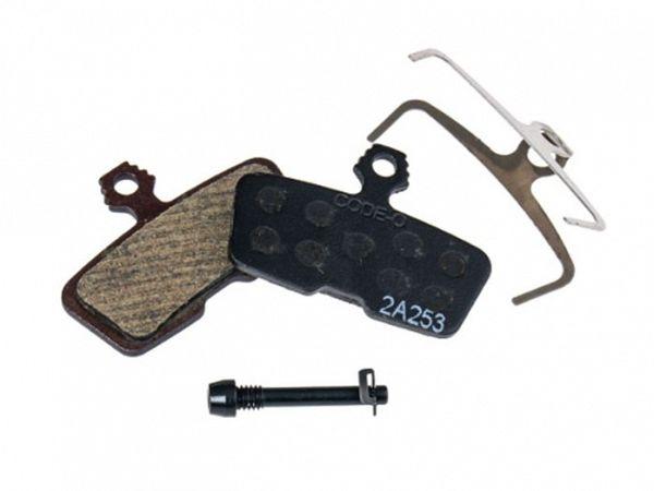 AVID MY11-MY16 Bremseklodser, Organisk bremsemateriale