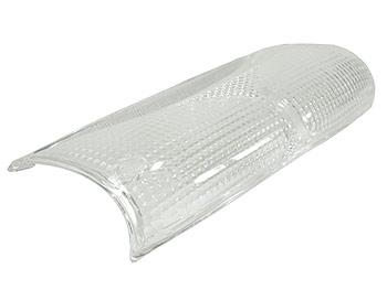 Baglygteglas - hvid