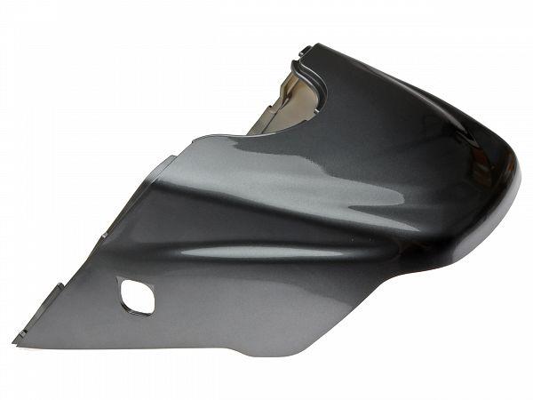 Bagskjold - Metalkoksgrå