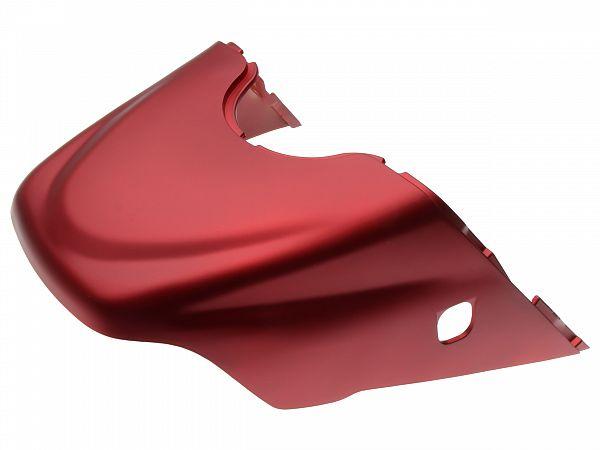 Bagskjold - Satin rød