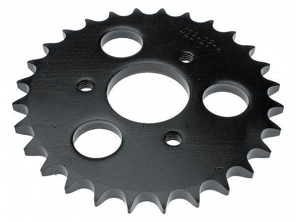 Bagtandhjul, 28T - originalt