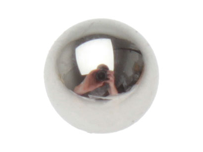 Ball behind push rod for coupling - original