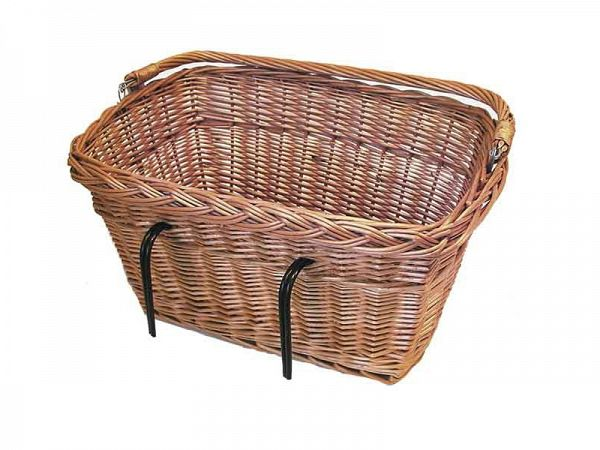 Basil Davos Flet Bicycle Basket, 42L