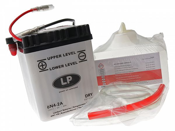 Batteri - 6V 4Ah 6N4-2A