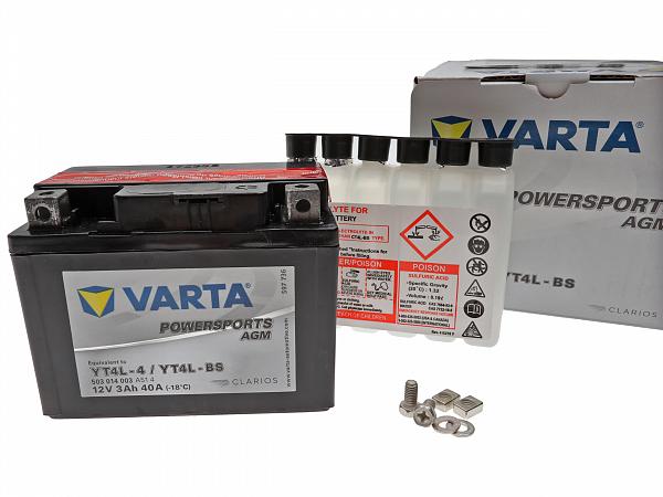 Batteri - intAct Bike-Power SLA YTZ5-S
