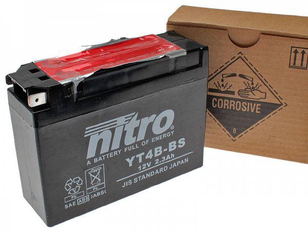 Batteri - Nitro 12V 2,3Ah YT4B-BS
