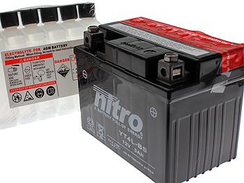Batteri - Nitro 12V 3Ah YT4L-BS