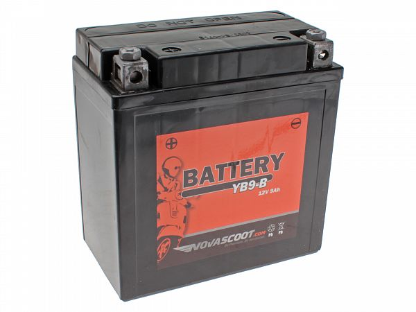 Batteri - Novascoot 12V 9Ah YB9-B