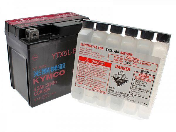 Batteri - YTX5L-BS