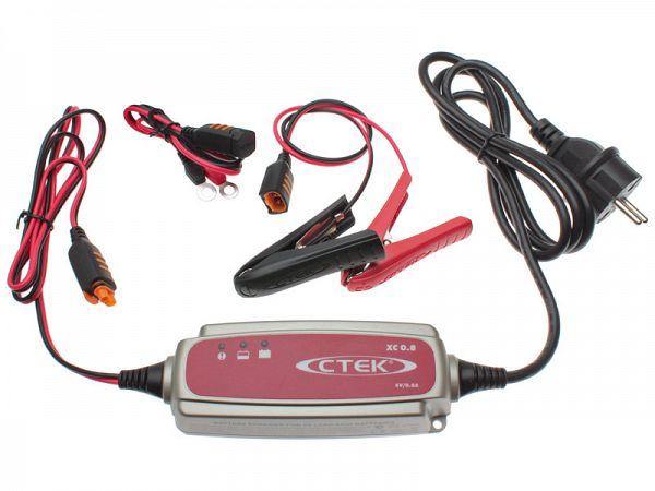 Batterioplader - CTEK XC 0.8 6V