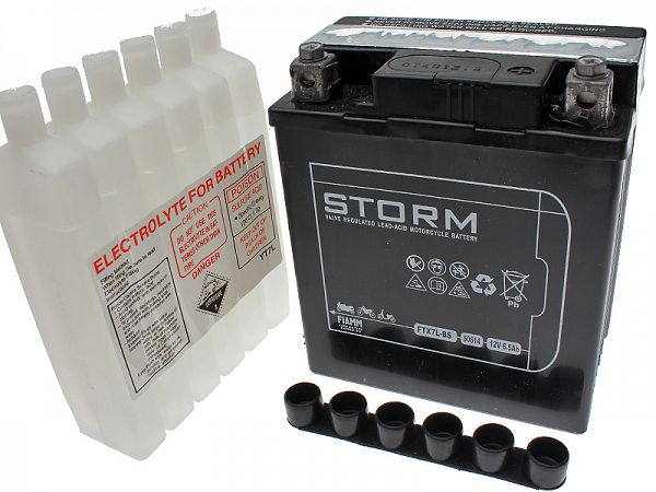 Battery - Storm 12V 6.5Ah FTX7L-S