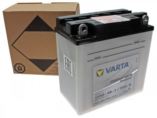 Battery - Varta 12V 9Ah YB9-B
