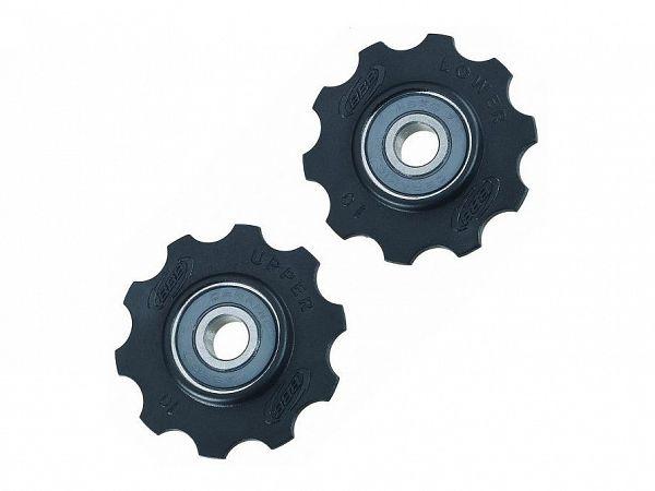 BBB Kædeførerhjul / Pulleyhjul 10T BDP-11 med keramiske lejer
